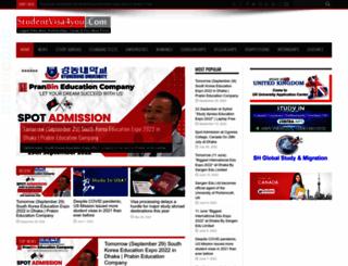 studentvisa4you.com screenshot