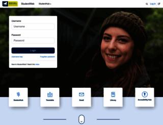 studentweb.bhtafe.edu.au screenshot
