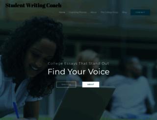 studentwritingcoach.com screenshot