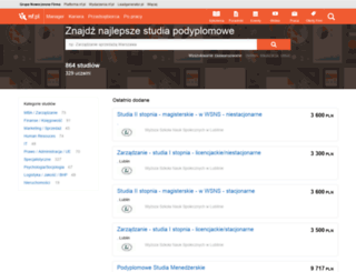 studia.nf.pl screenshot