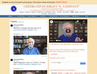 studibiblici.it screenshot