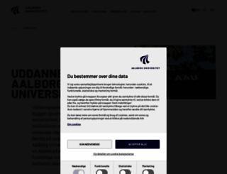 studieguide.aau.dk screenshot