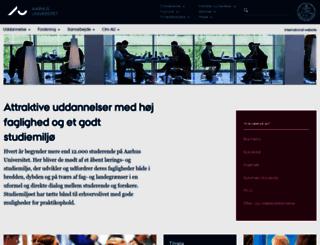 studieguide.au.dk screenshot