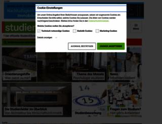 studienwahl.de screenshot