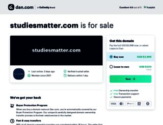 studiesmatter.com screenshot