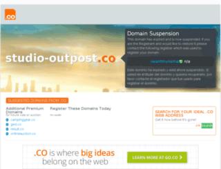studio-outpost.co screenshot