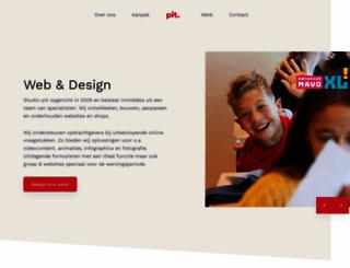 studio-pit.nl screenshot