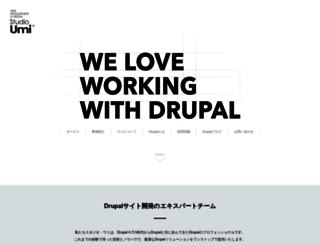 studio-umi.jp screenshot