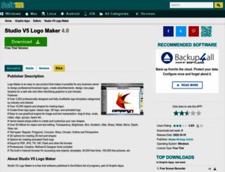 studio-v5-logo-maker.soft112.com screenshot
