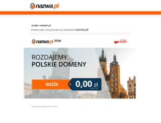 studio-webart.pl screenshot
