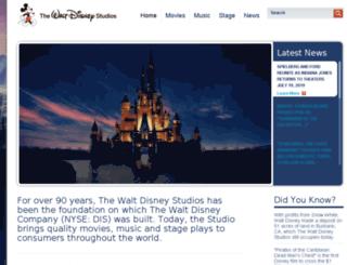 studio.go.com screenshot
