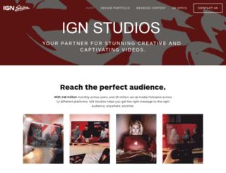studio.ign.com screenshot