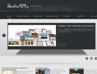 studio109.fr screenshot
