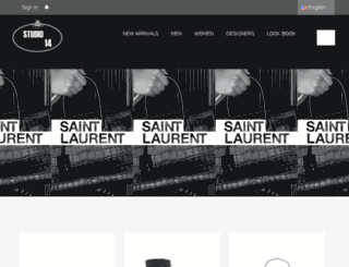 studio14.ma screenshot