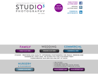 studio3photography.co.uk screenshot