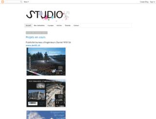 studio54-graphisme.blogspot.com screenshot