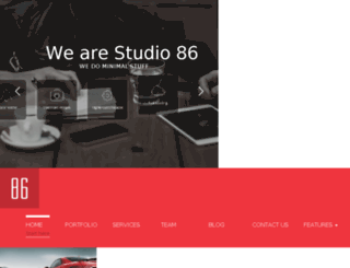 studio86.weblusive-themes.com screenshot