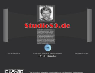 studio89.de.vu screenshot