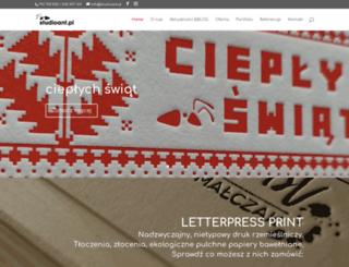 studioant.pl screenshot