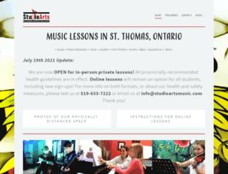 studioartsrock.com screenshot