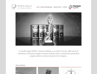studioavvocatopalermo.it screenshot