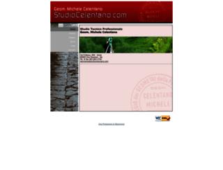 studiocelentano.com screenshot