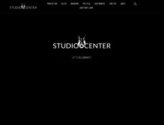 studiocenter.com screenshot
