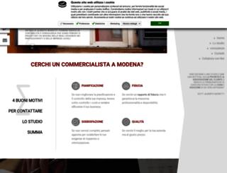 studiocommercialistimodena.it screenshot