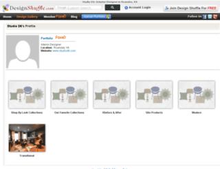 studiod6.designshuffle.com screenshot