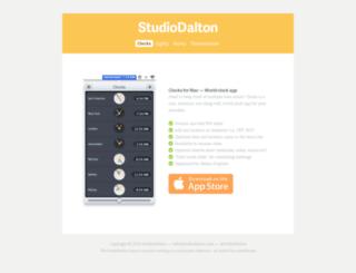 studiodalton.com screenshot