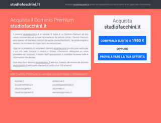 studiofacchini.it screenshot