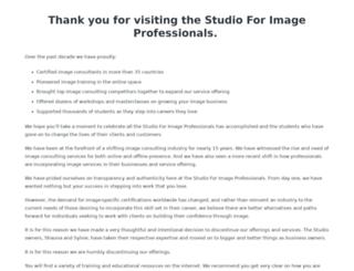 studioforimageprofessionals.com screenshot