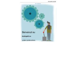 studiogatti.eu screenshot
