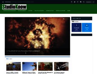 studioknow.com screenshot