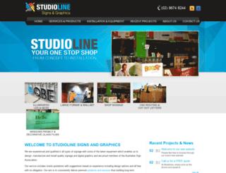studiolinesigns.com screenshot