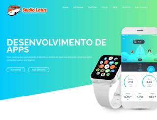 studiolotus.com.br screenshot