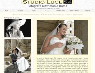 studioluce54.it screenshot