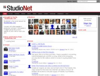 studionet.studiodaily.com screenshot