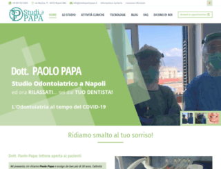 studiopaolopapa.it screenshot