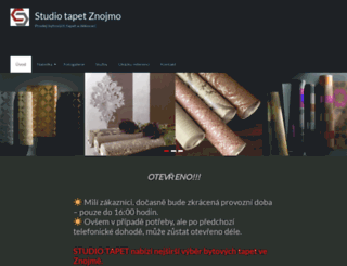 studiotapet.cz screenshot