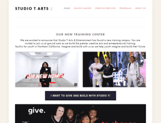 studiotdance.com screenshot