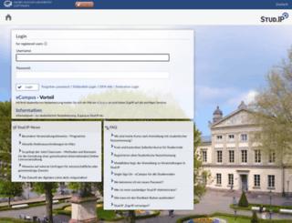 studip.uni-goettingen.de screenshot