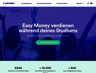 studitemps.de screenshot