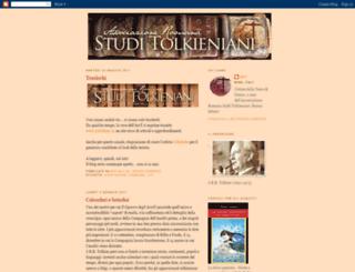 studitolkieniani.blogspot.com screenshot