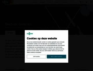 studiumgenerale.saxion.nl screenshot