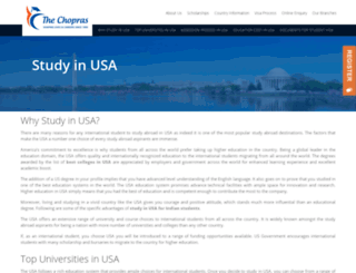 study-in-usa.in screenshot