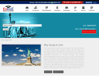study-usa.in screenshot