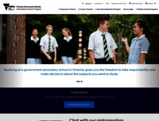 study.vic.gov.au screenshot