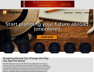 studyabroad.com screenshot