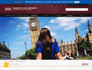 studyabroad.msstate.edu screenshot